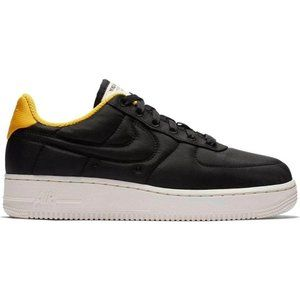 Nike Air Force 1 Lux Black Yellow Ochre